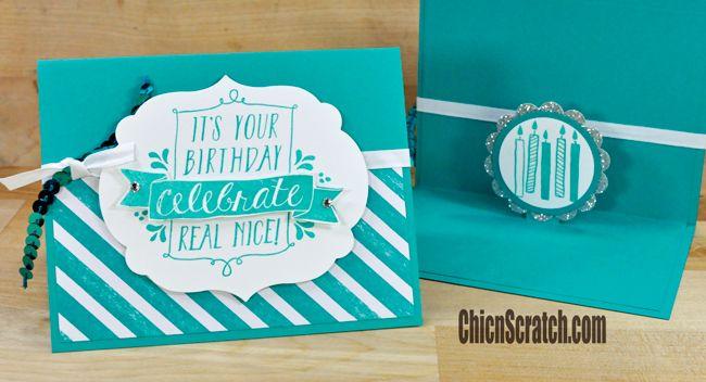 Balloon Bash Birthday Card http://www.mychicnscratch.com/2015/03/balloon-bash-birthday-card.html