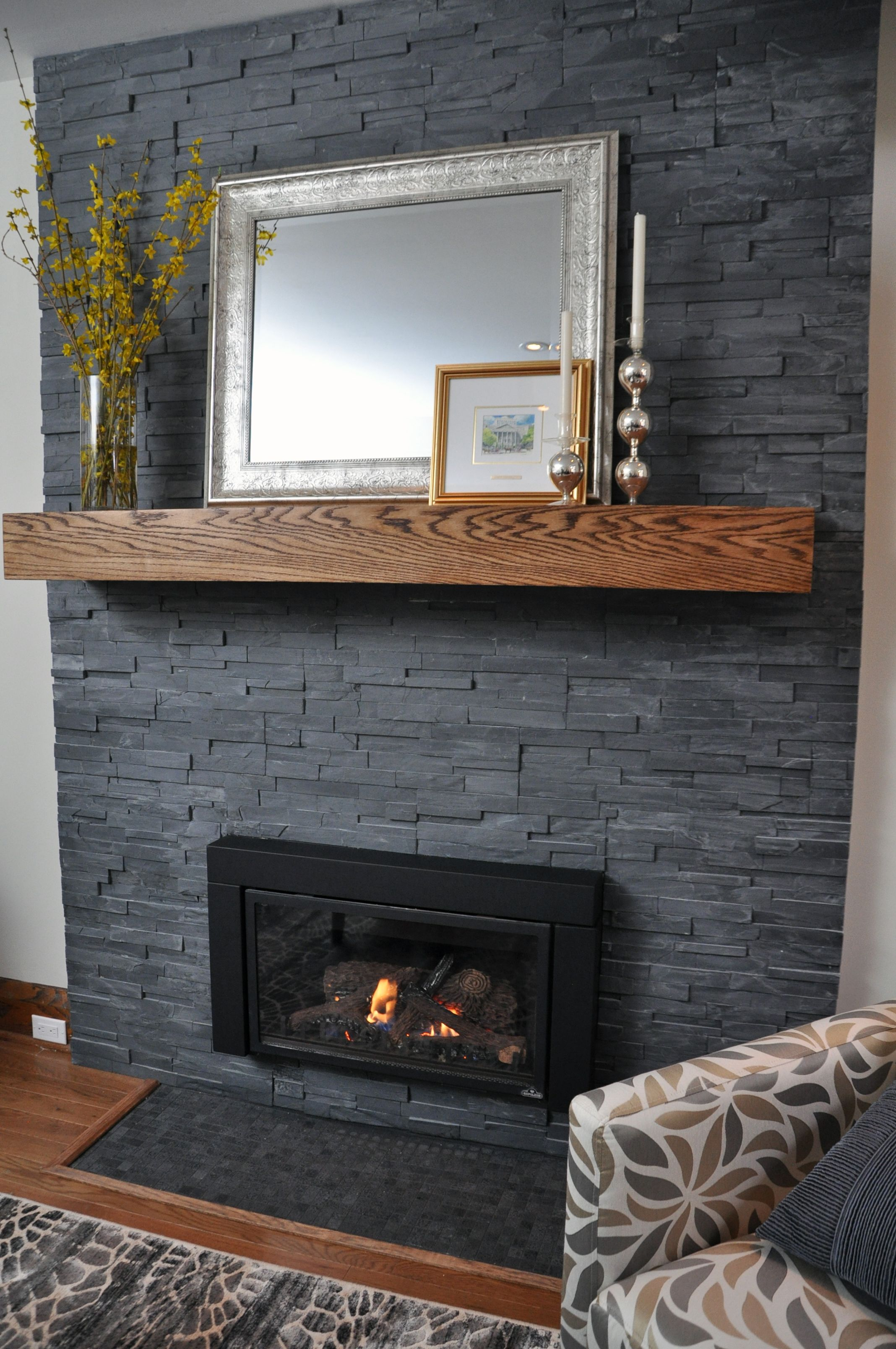 Gray Brick Fireplace Shanty2chic On Instagram Sometimes A Good Coat Of Paint And A