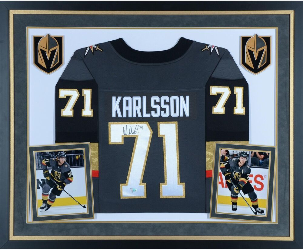 dad50ce66 Autographed William Karlsson Golden Knights Jersey Item 8615745 ...