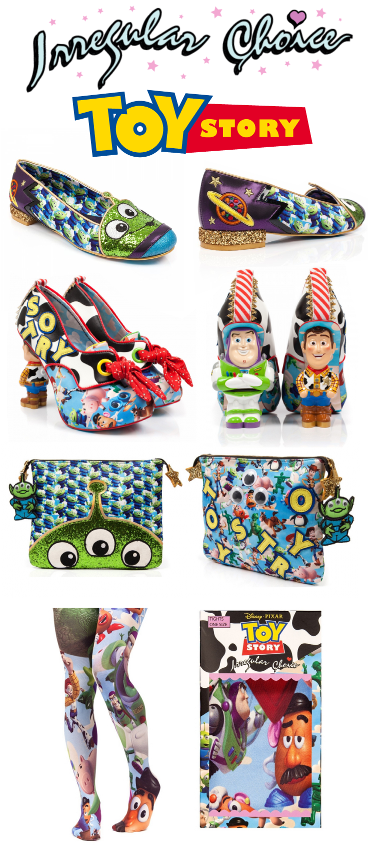 4aa63790e3d Check out this sneak peek of the NEW Toy Story x Irregular Choice  collection coming soon!!