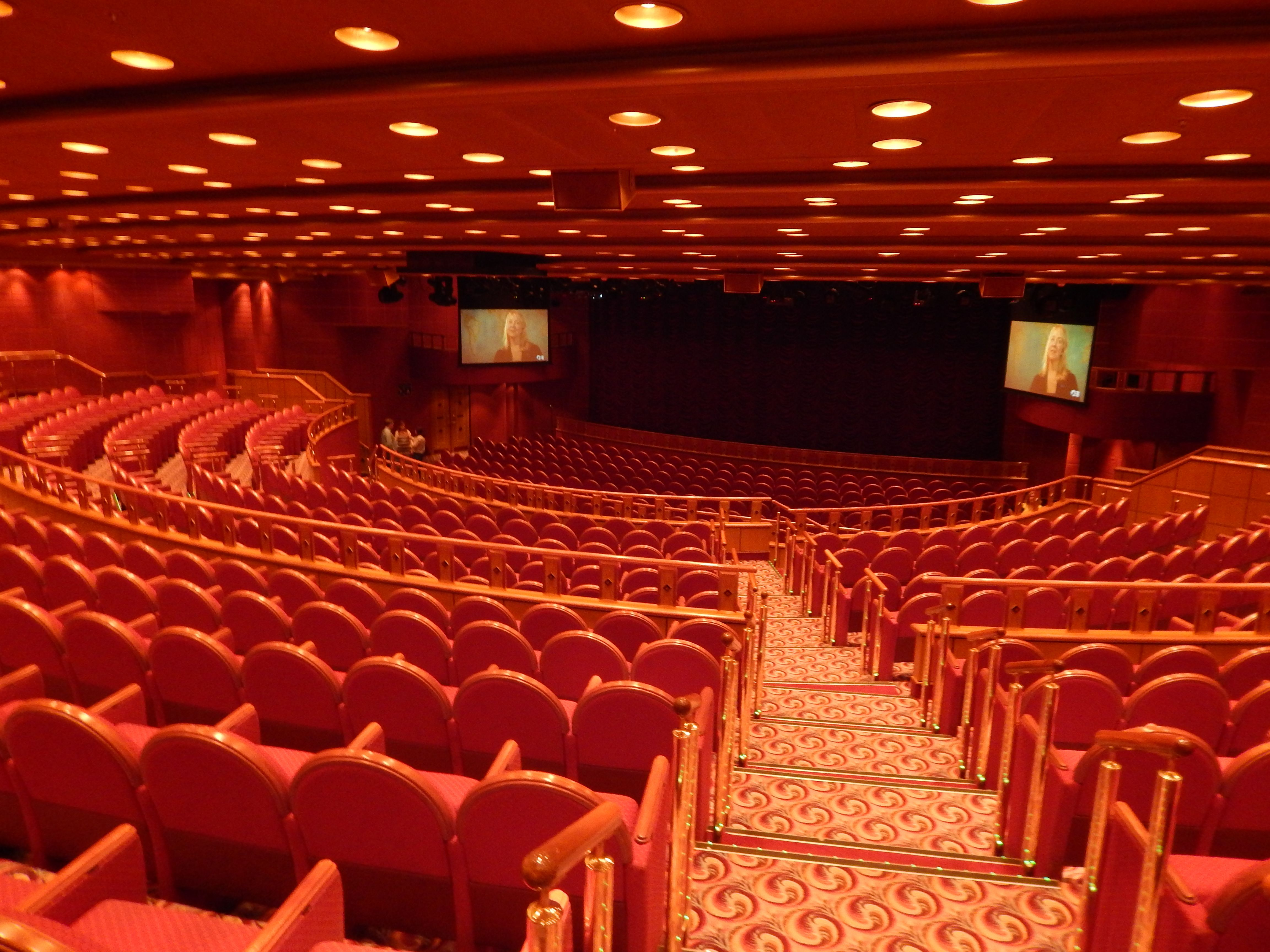 Ruby Princess Theater Grand Turk St Thomas Round Trip