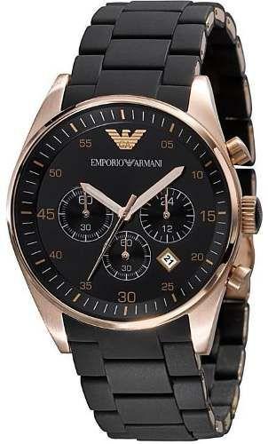 c54f44548e9 relógio emporio armani ar5905 preto rose lindo frete grátis.