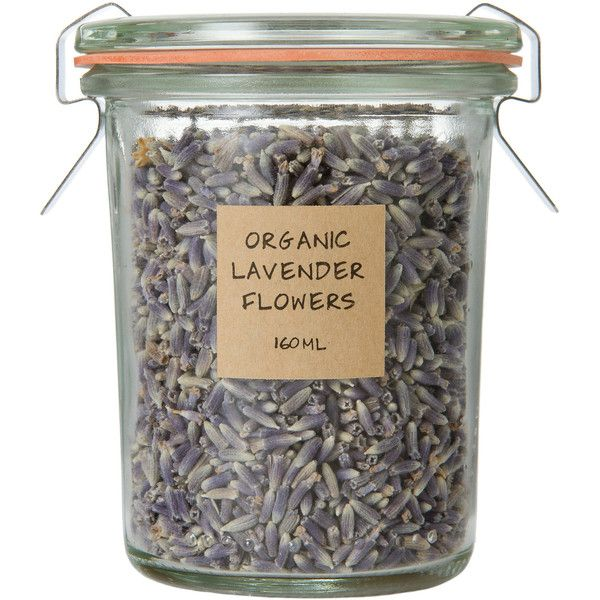 Organic Lavender Flowers (€5,96) ❤ liked on Polyvore featuring home, kitchen & dining, fillers, food, beauty, items, lavender, syrup jars and maple syrup jars