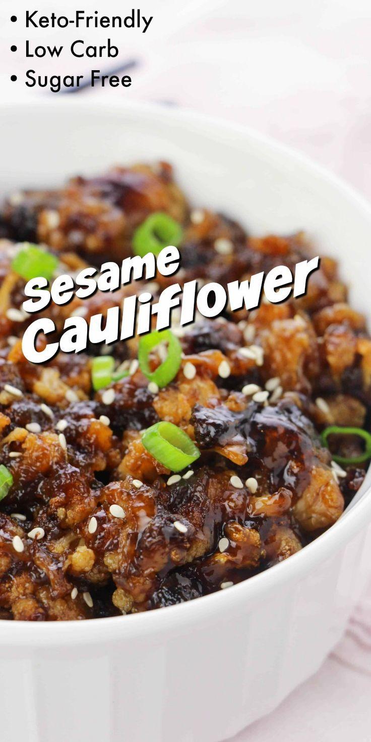Photo of Sesame Cauliflower – Delicious Takeout Alternative!