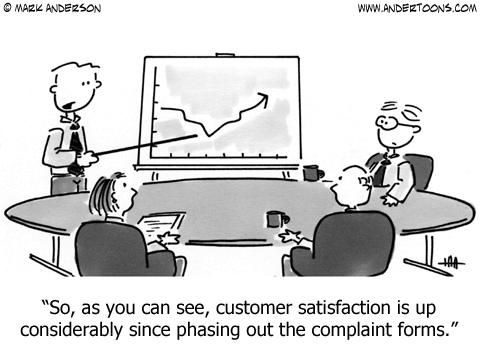 Customer satisfaction... | #brightshinyobjects | Pinterest ...