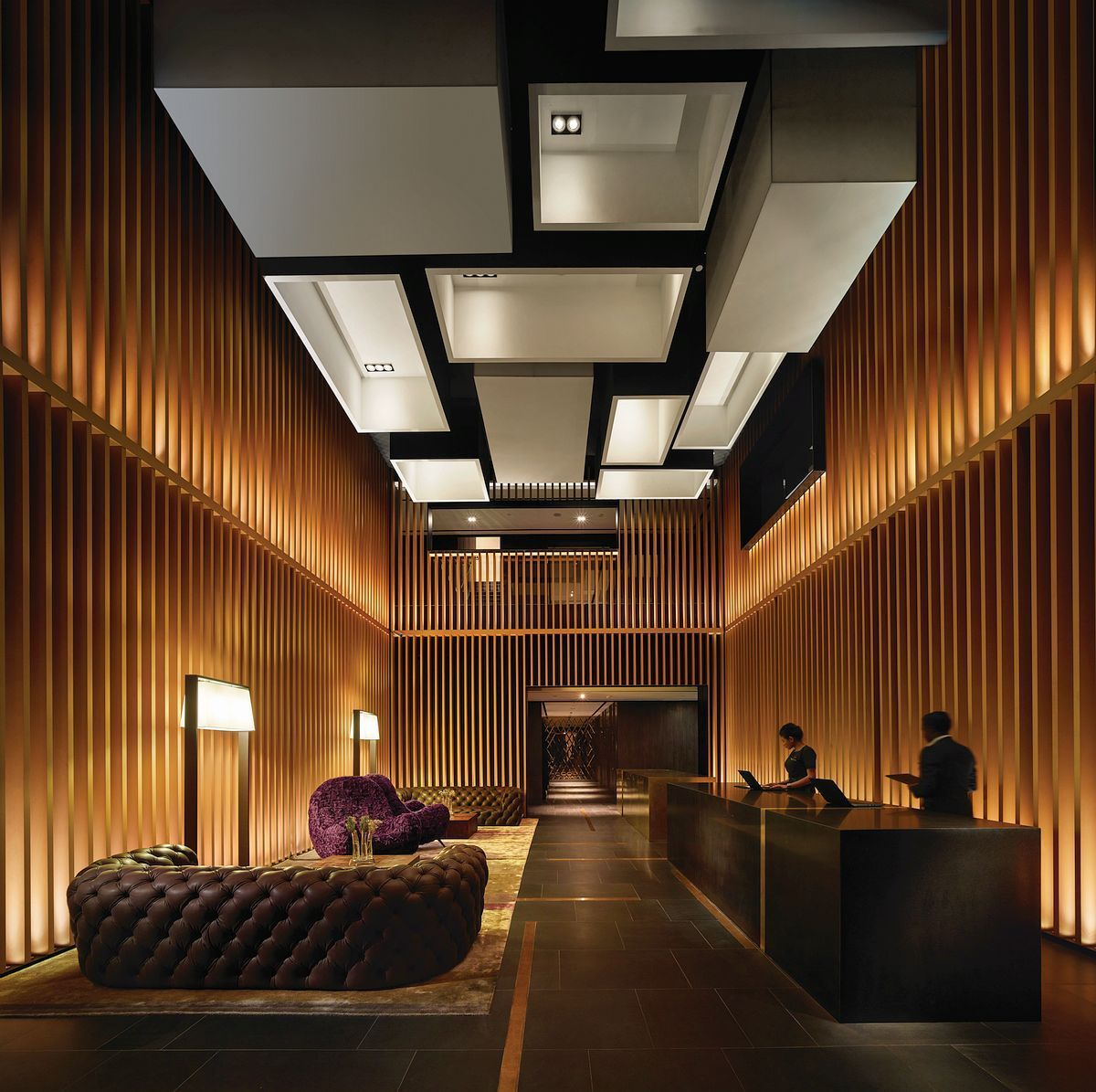 G Hotel Kelawai Malaysia With Its Exquisite In 2020 Lobby Interior Design Hotel Interior Design Interior Architecture Design