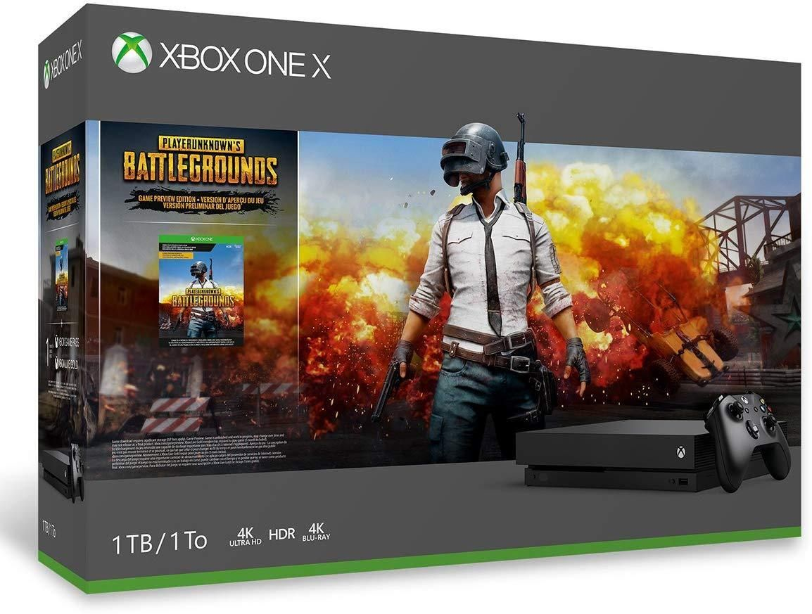 Xbox One X 1tb Pubg Console Bundle With Red Dead Redemption 2 Xbox Wireless Controller Xbox One Xbox