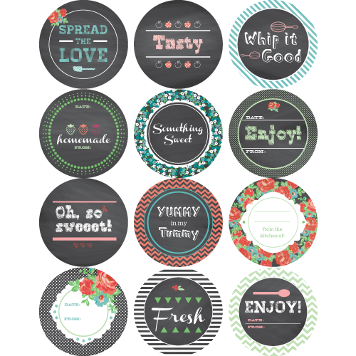 Hazel And Ruby: Mason Jar Labels, FREE Printable