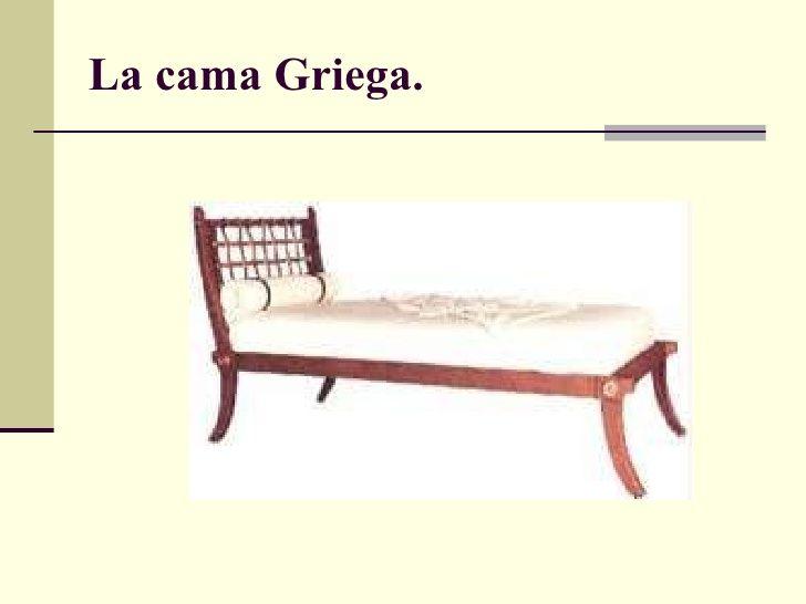 La cama Griega. | 4.Mueble griego | Pinterest | La cama, Camas y Romano