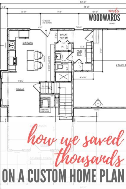 Hiring A Draftsman How We Saved Thousands On A Custom Home Plan Custom Home Plans House Plans Online House Plans