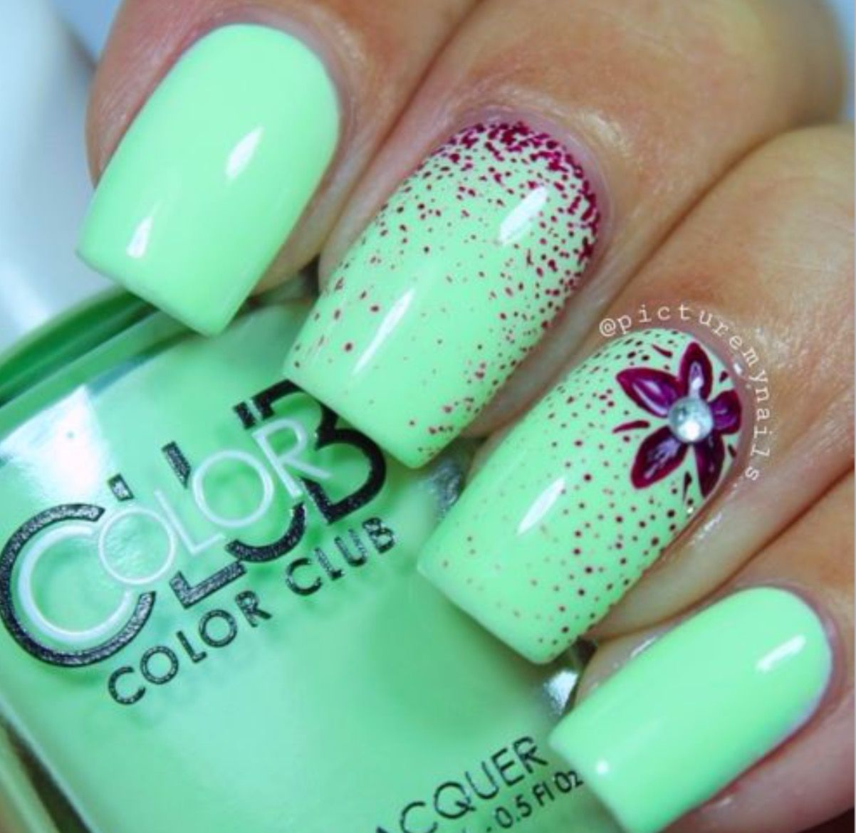 20 Awesome Nail Arts You Must Love | Diseños de uñas, Manicuras y ...