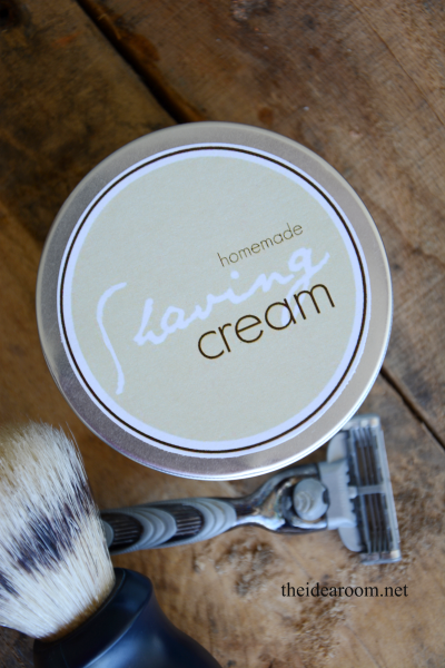 DIY Shaving Cream for Father's Day (or make some for yourself)
