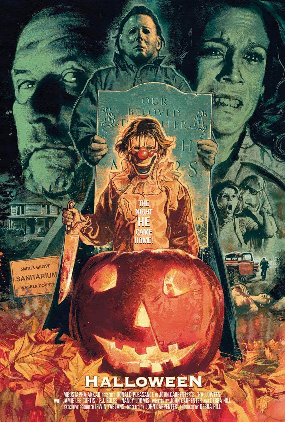 Warren County Halloween 2020 Filmed halloween movies michael myers in 2020   Retro horror, Classic