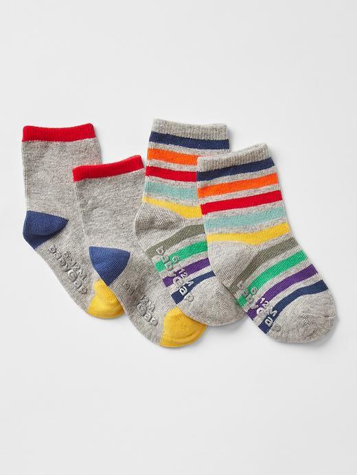 Stripe socks (2-pack) Product Image