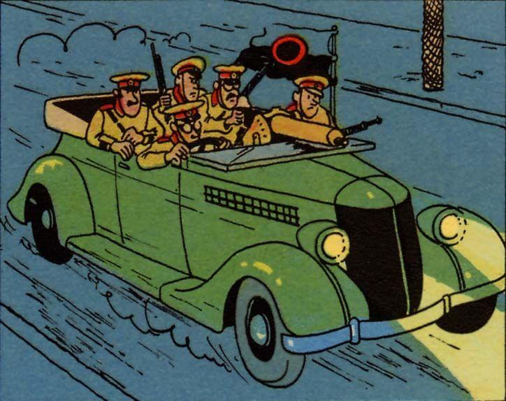 tintin 1936 Ford