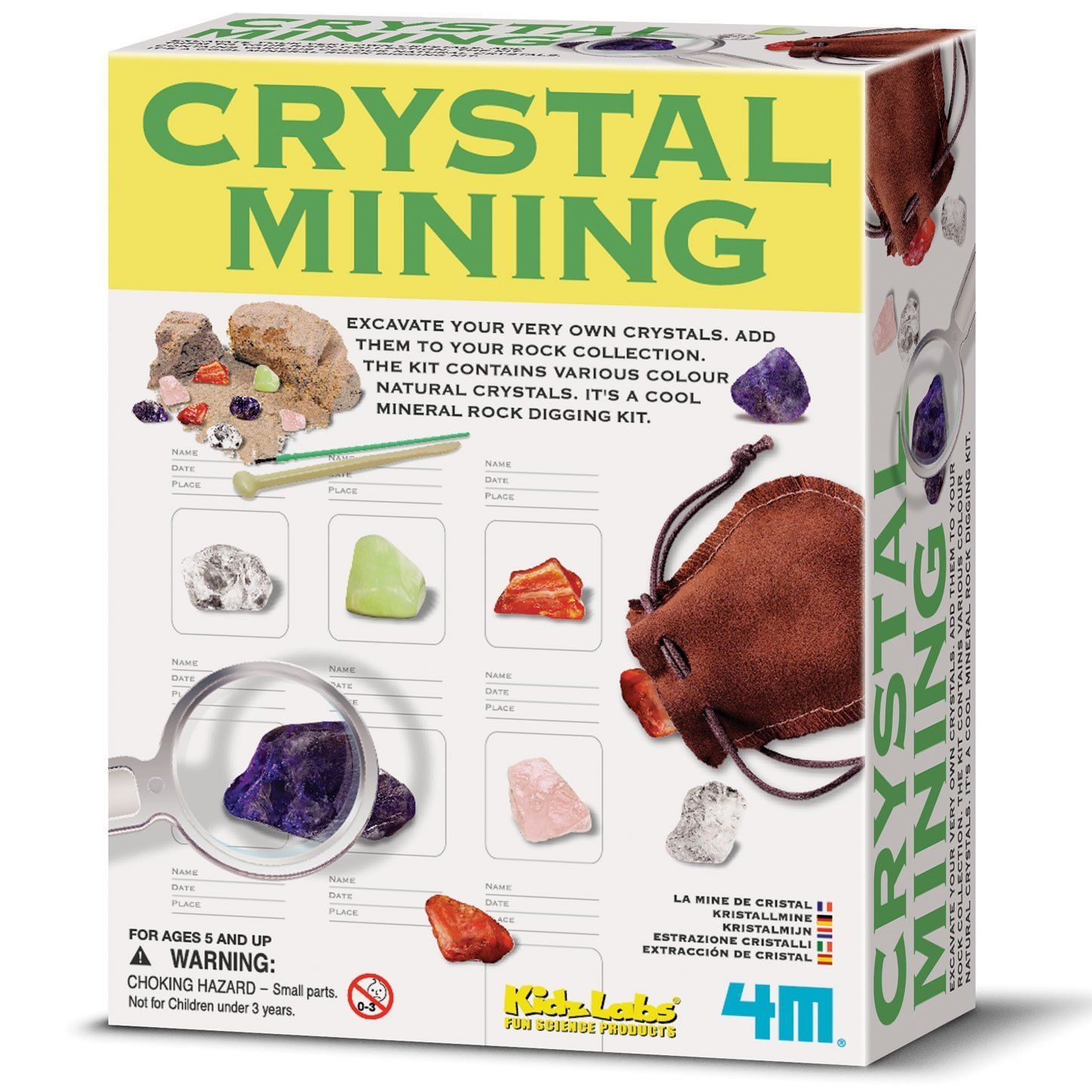 My Kids DIG the Crystal Digging Kit