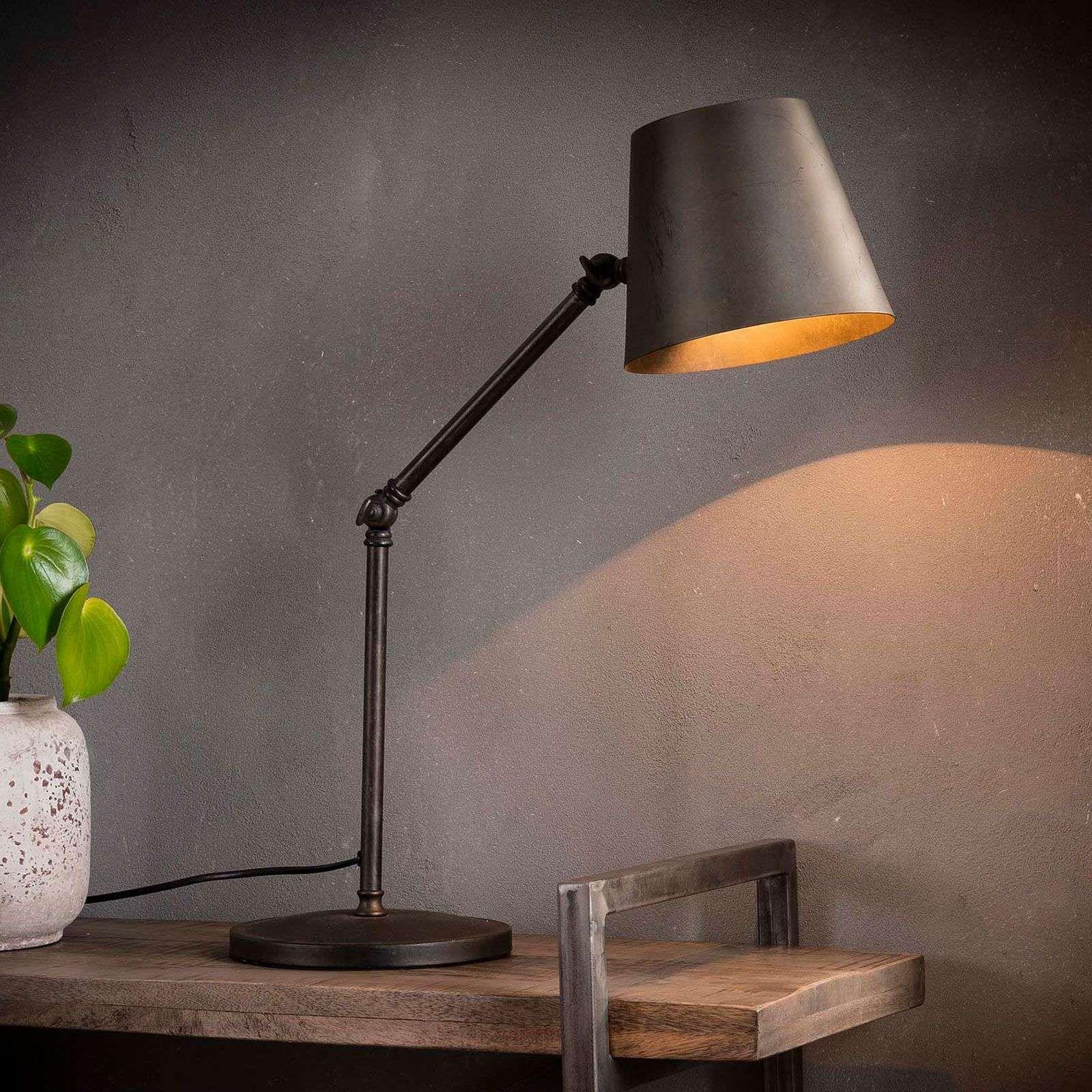 Buro Tischleuchten Tischlampe Vintage Style Tischleuchte Gross Holzfuss Nachttischleuchte Led Lampe Mit In 2020 Tischleuchte Lampe Mit Batterie Leuchtstoffrohre