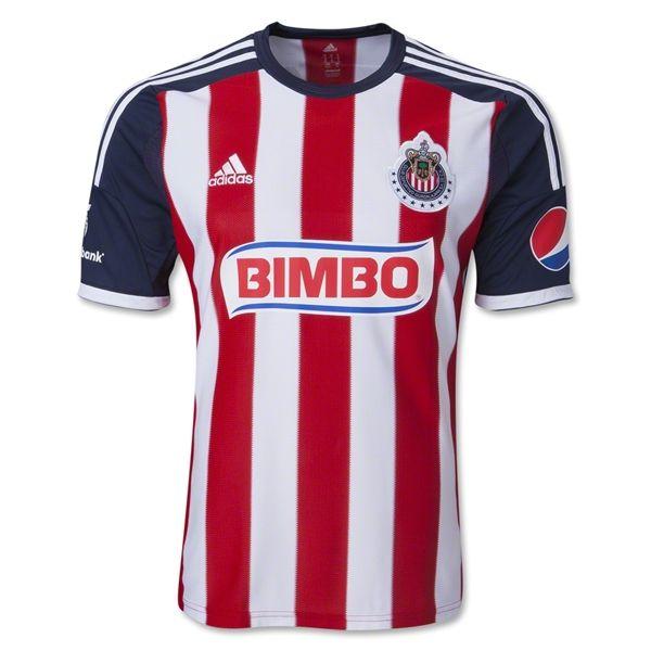 fb48afa27e3 Chivas 13 14 Home Soccer Jersey