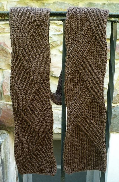 Free Pattern Rippenschal My Favourite Ribbed Scarf By Margarete