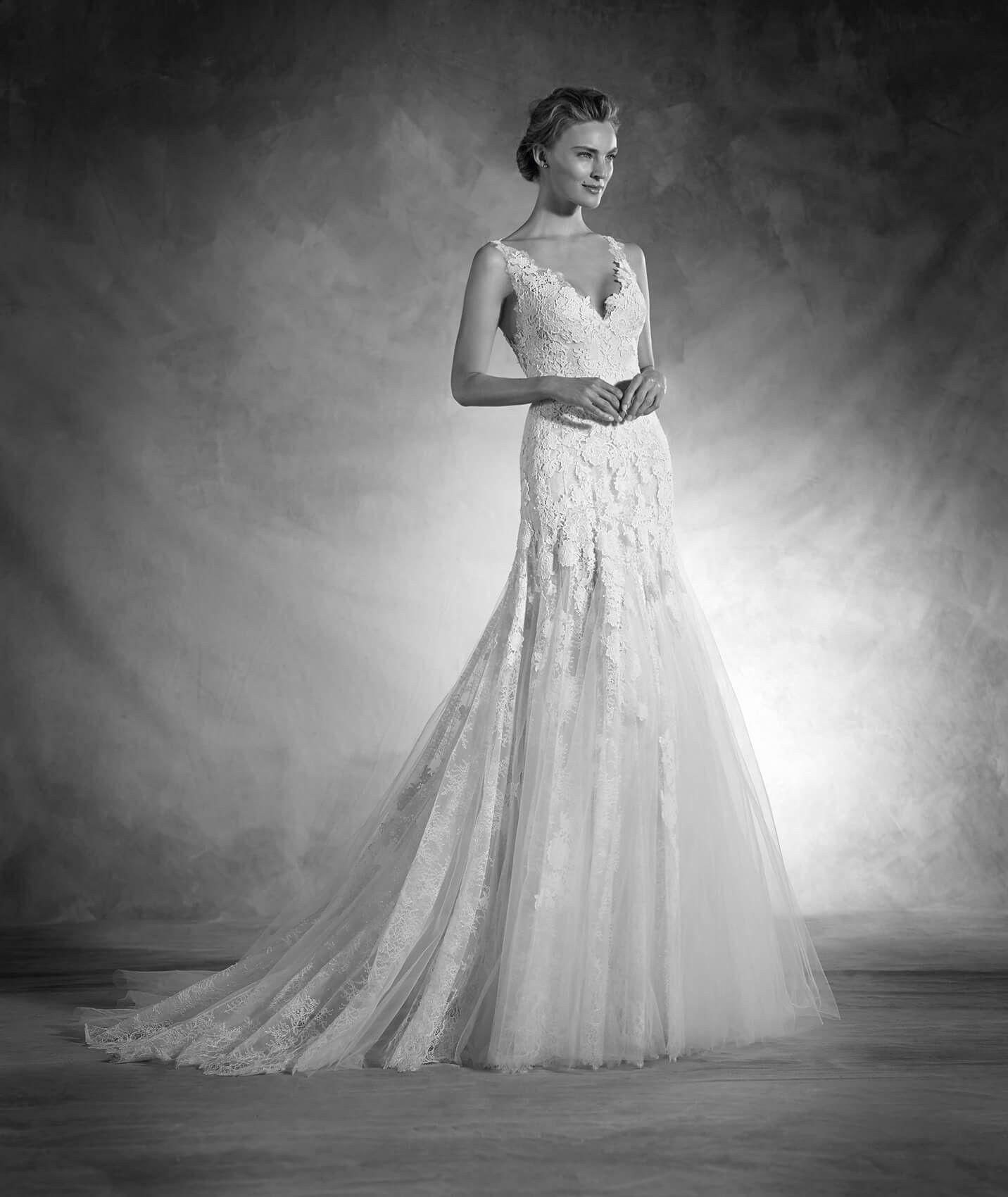 Romantic aline wedding dress kleinfeld bridal future