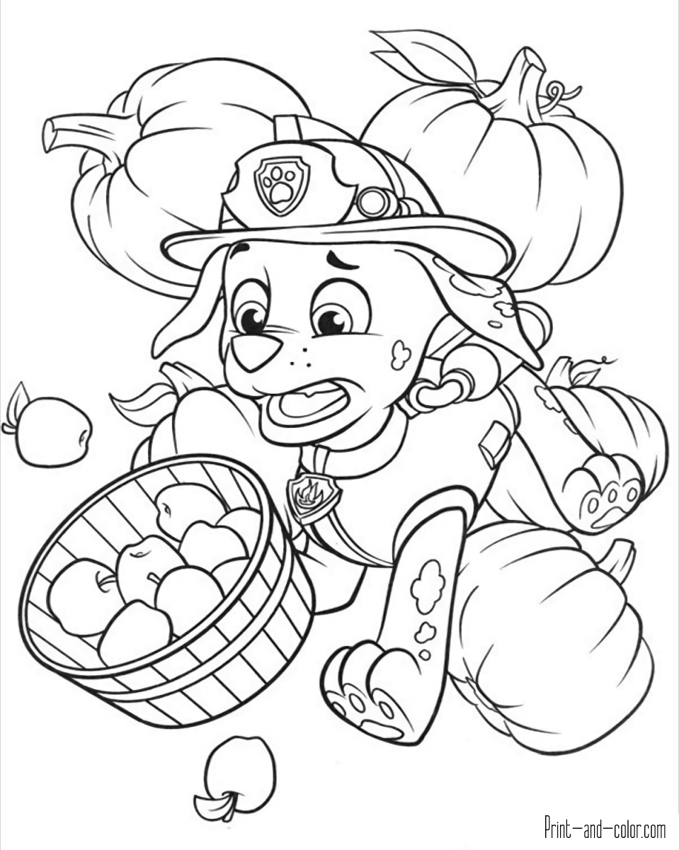 Quatang Gallery- There Are Many High Quality Paw Patrol Coloring Pages For Your Kids Printable Free In One C Paw Patrol Coloring Pages Fall Coloring Pages Paw Patrol Coloring