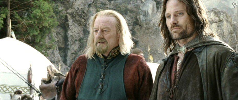 Théoden & Aragaorn