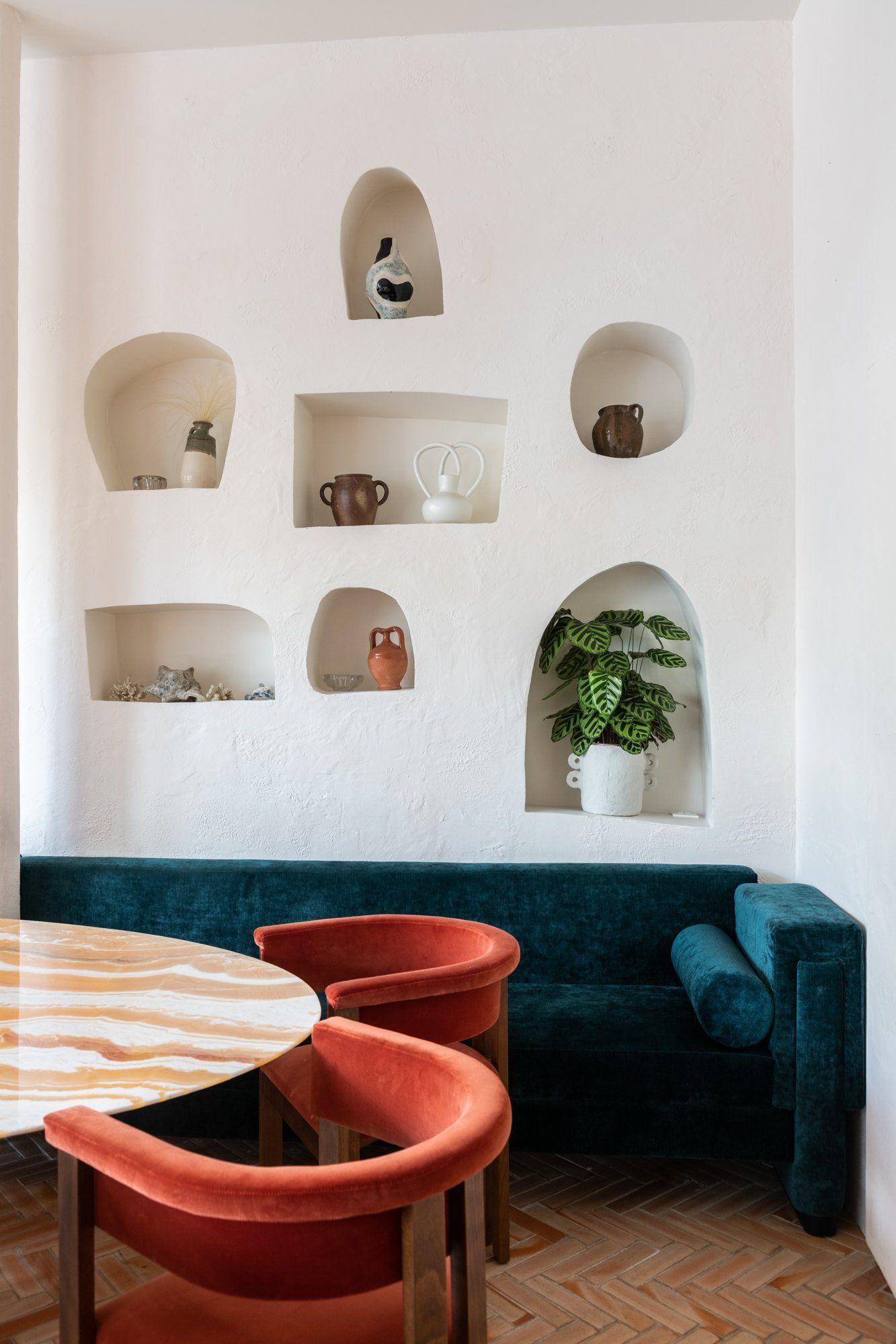 La Riviera On Dirait Le Sud Decoration Contemporaine Decoration Maison Design D Interieur Retro
