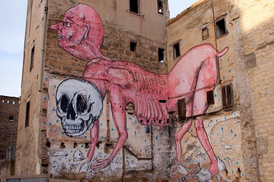 Emajons - Italian Street Artist - Palermo (IT) - 01/2015 - |\*/| #emajons #streetart