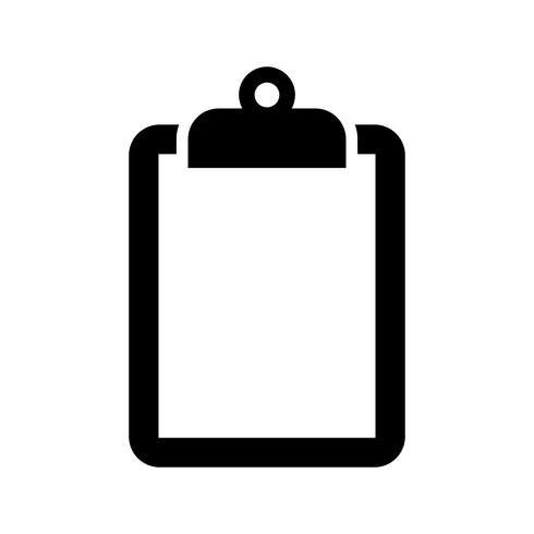 Clipboard Vector Icon Vector Icons Clipboard Vector Illustration Design
