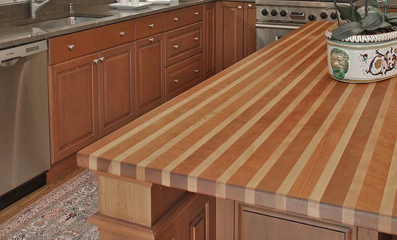 Bamboo Butcher Block Countertops Beech Wood Bar Tops And