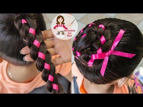 Trenza Arcoiris Peinado Facil Para Escuela Peinado Para Ninas
