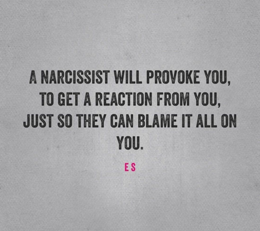 Give The Narcissist No Reactions