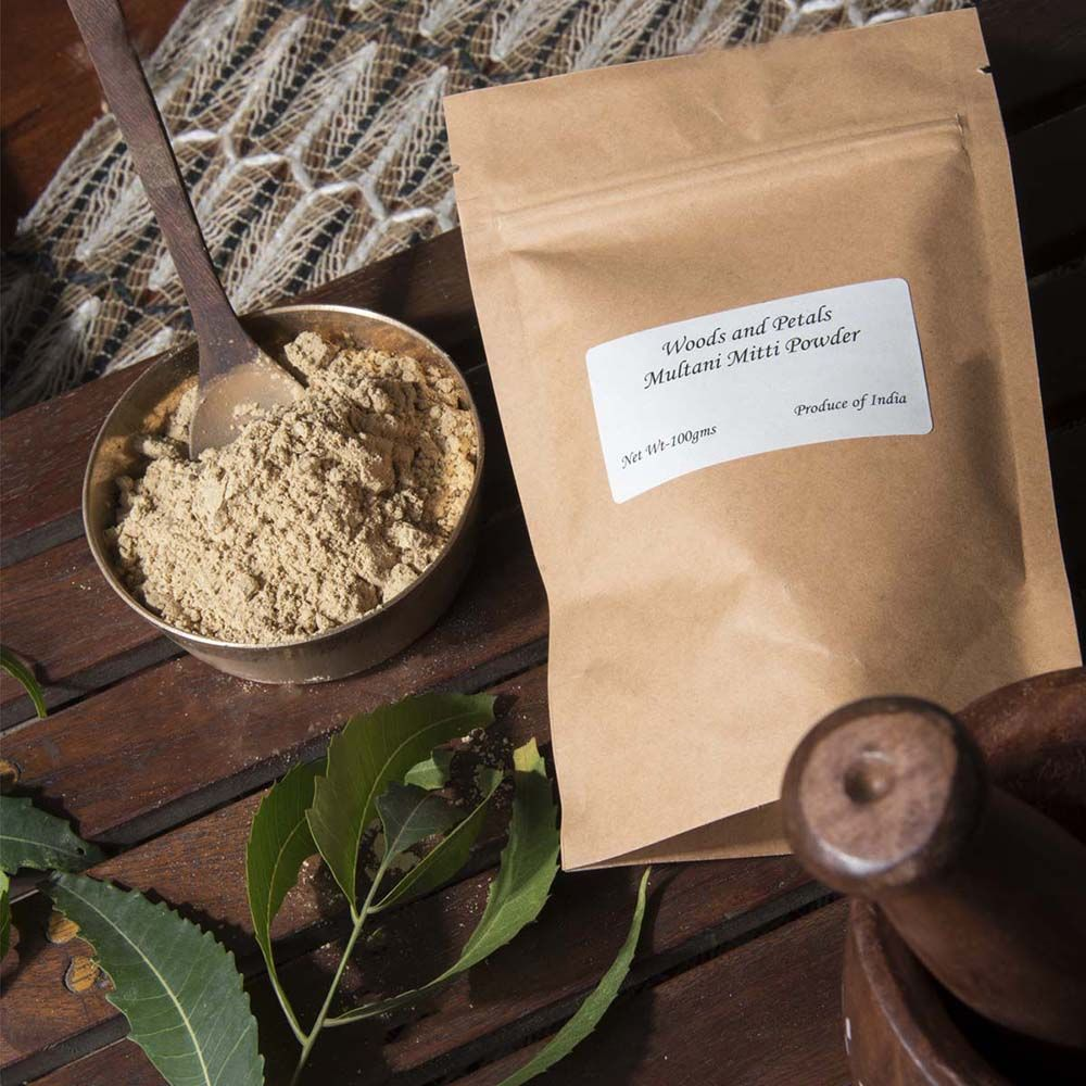 Buy Multani Mitti Powder (Fullers Earth Clay) Online in