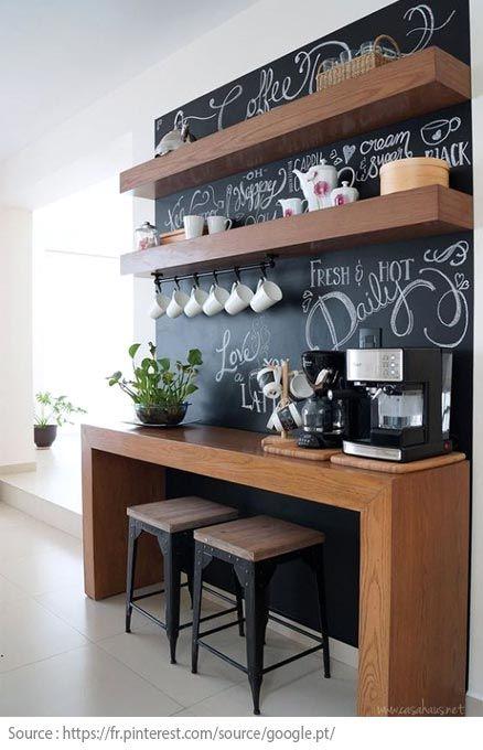 10 idées pour créer un coin thé ou café à la maison - 3 Deco - creer un plan de maison