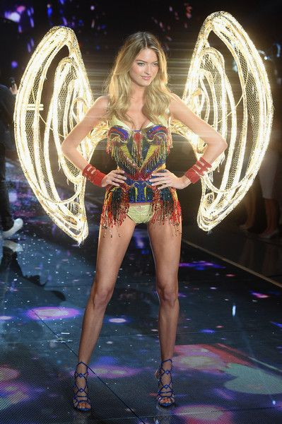 0438c1d9d82 Model and New Victoria s Secret Angel Martha Hunt from North Carolina walks  the runway during the