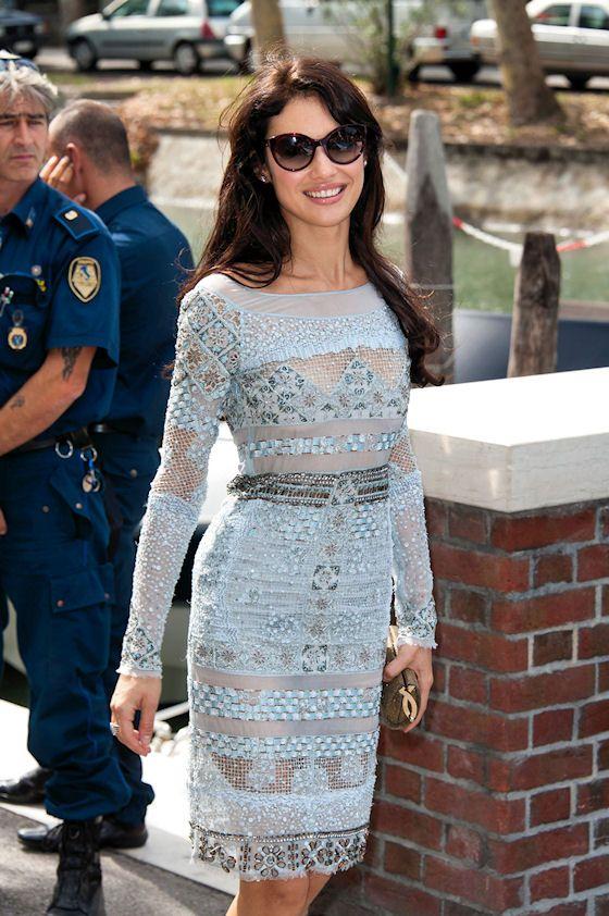 "Former Bond girl Olga Kurylenko is seen at the Venice Film Festival on her way to the ""To The Wonder"" photo call"