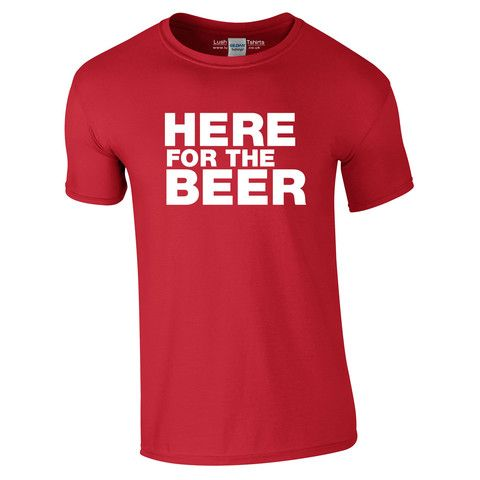 Here For The Beer Holiday T-Shirt
