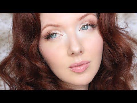 Angelic, Ethereal Makeup Tutorial - YouTube