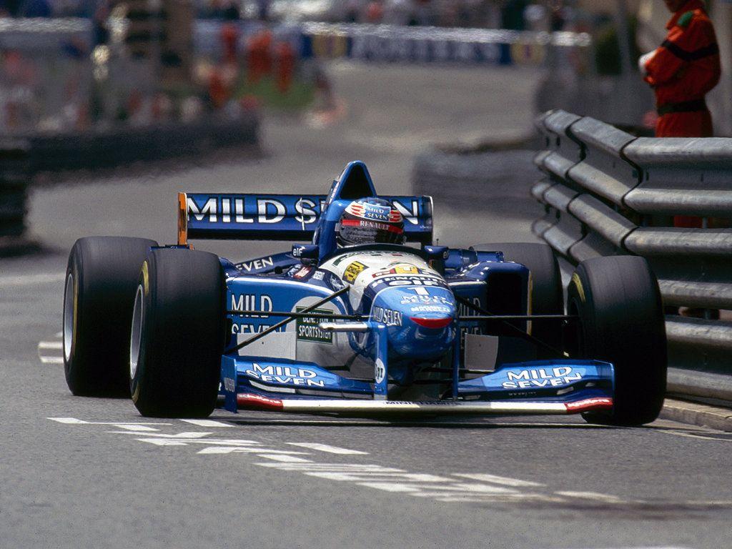 Michael Schumacher - Mild Seven Benetton Renault B195 - 1995 Monaco Grand Prix