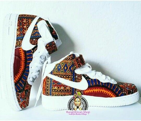 Some dope Nike with the african motif