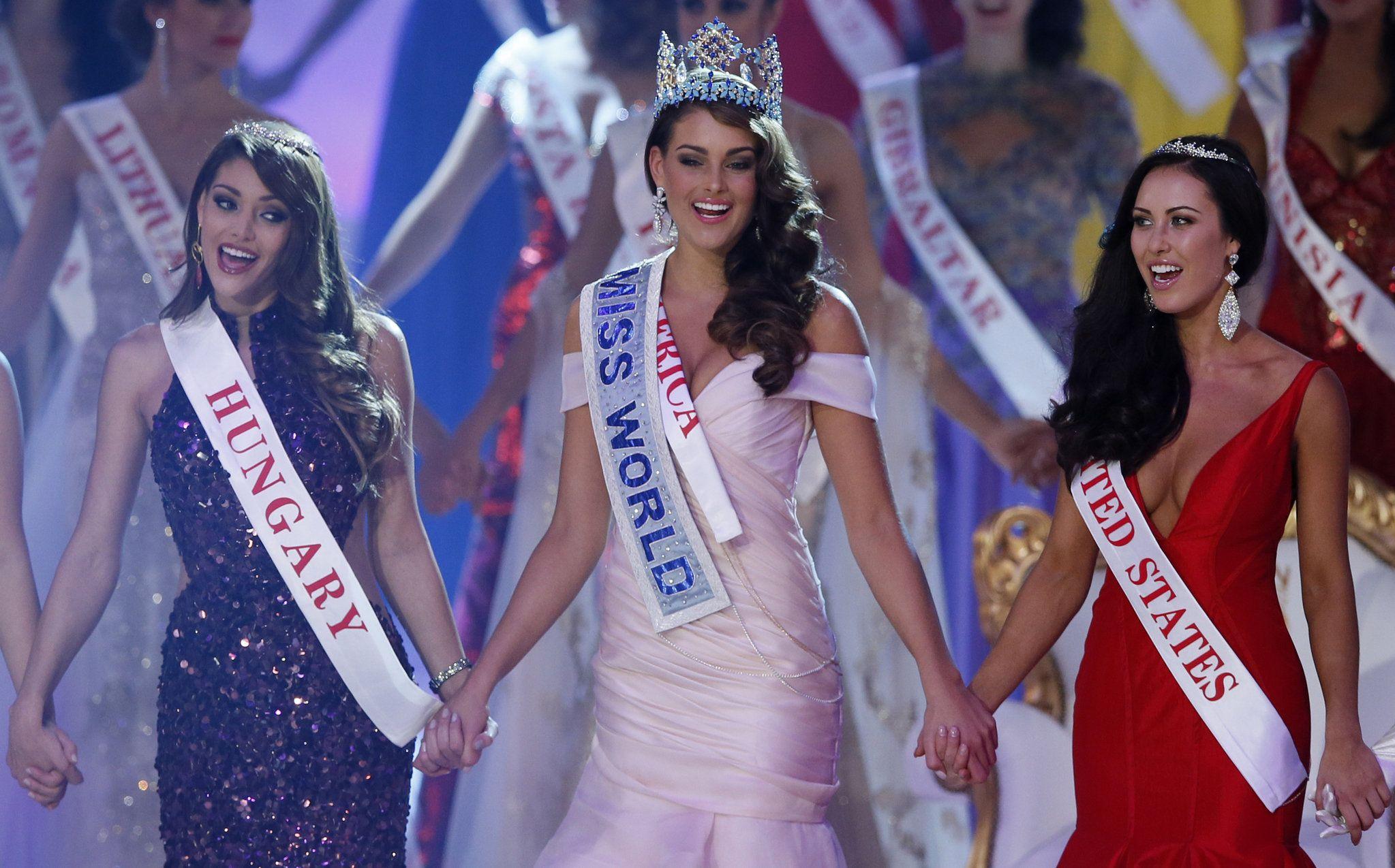 South Africas Rolene Strauss named Miss World 2014 - CBS News