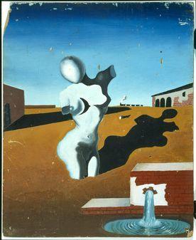 Sans titre  c. 1928  Huile sur bois  35 x 29 cm