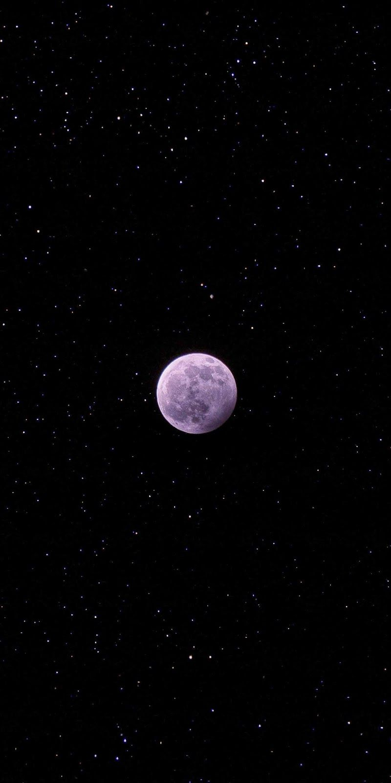 Moon Of The Night In 2020 Galaxy Wallpaper Iphone Black Aesthetic Wallpaper Galaxy Wallpaper