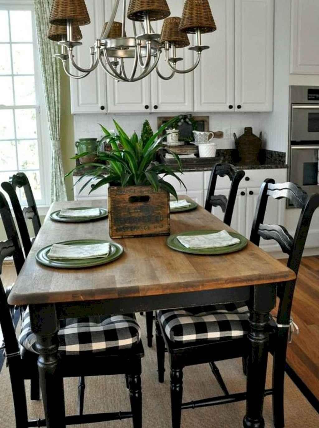 85 Rustic Farmhouse Dining Room Design Ideas Kitchen