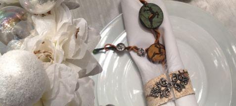 Union Knopf DIY Serviettenringe #DIY #unionknopf #crafting #crafts #knöpfe #buttons #servietten #decoration #xmas