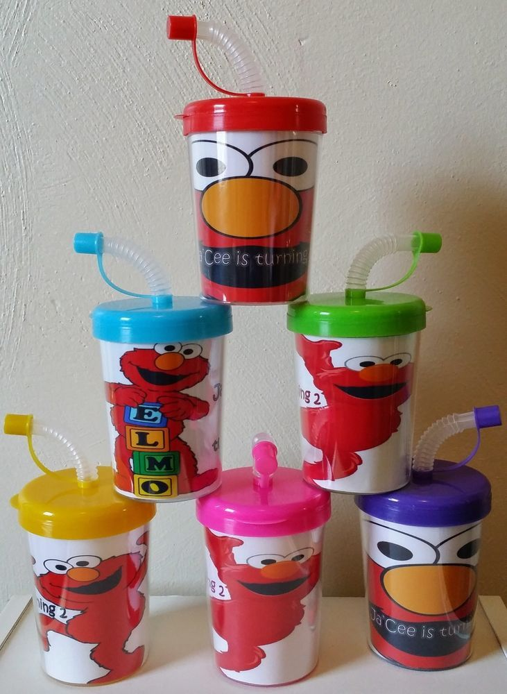 Elmo personalized do it yourself party favor cups diy elmo party elmo personalized do it yourself party favor cups diy elmo party favors sesame street birthday party treat cups set of 6 bpa free solutioingenieria Choice Image