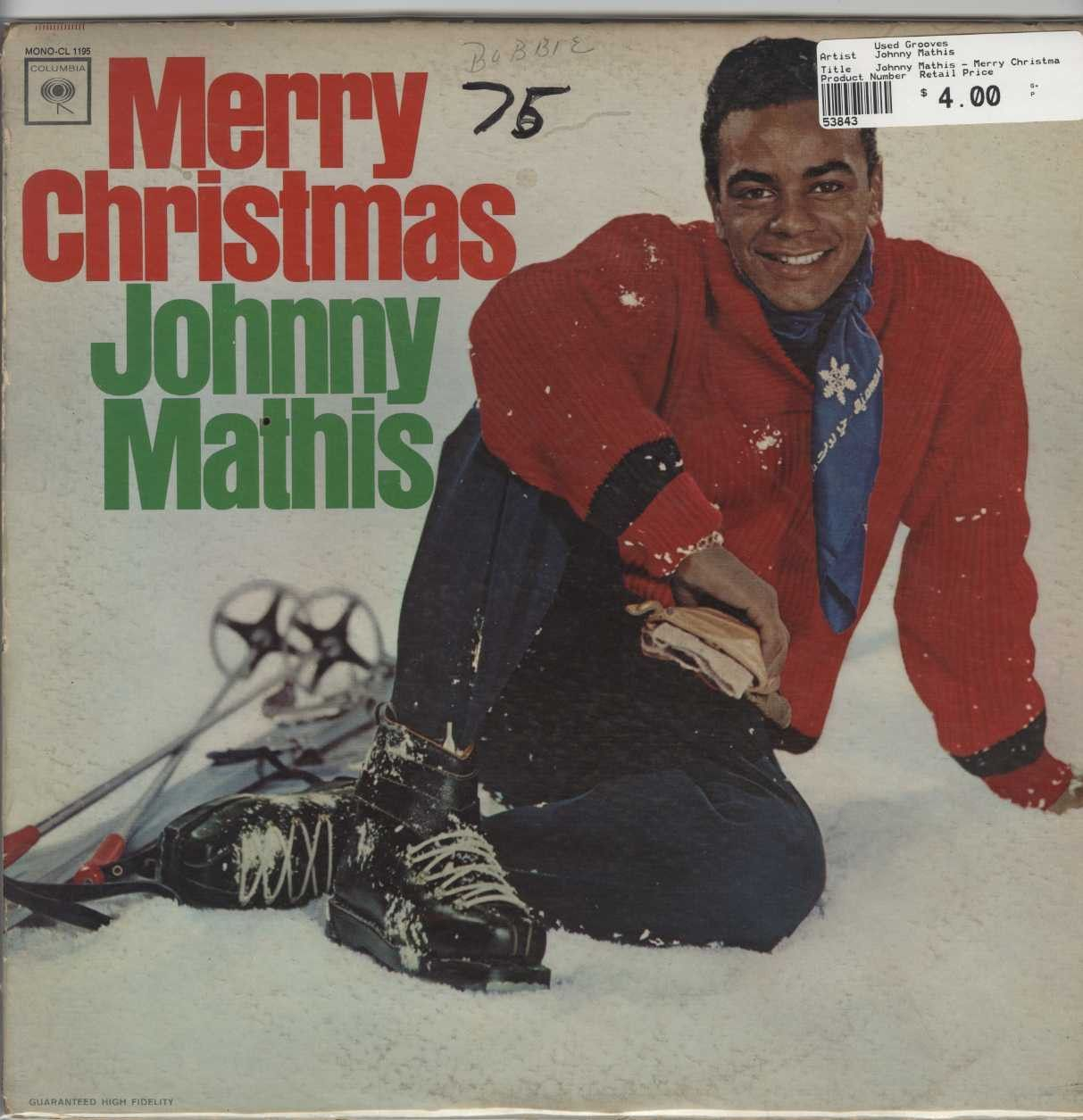 Johnny Mathis - Merry Christmas | Pinterest | Johnny mathis and Products