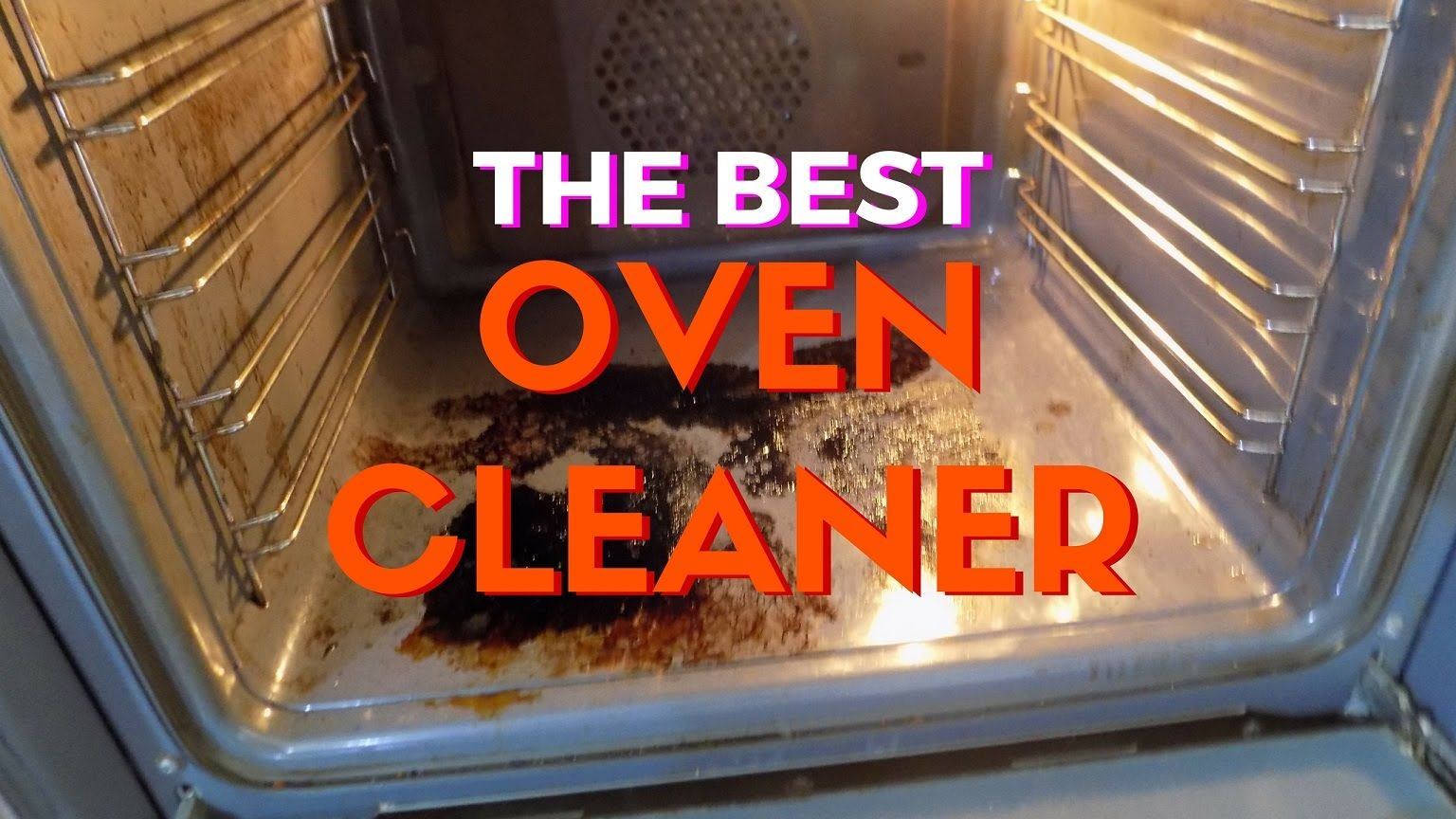 THE BEST OVEN CLEANER