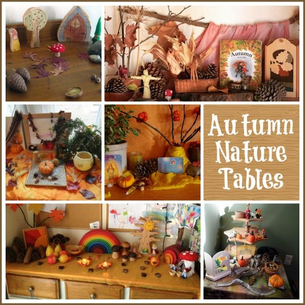 The Autumn Nature Table : Discovering Waldorf - The Magic Onions