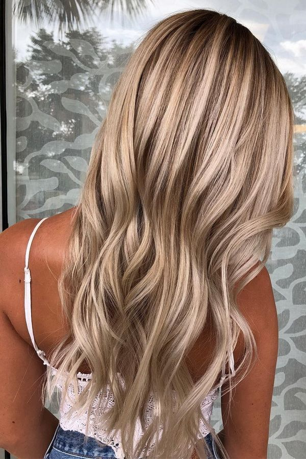 Blonde Hair Painting : blonde, painting, Ultra, Popular, Blonde, Balayage, Hairstyle, Painting, Ideas, Hair,, Belliage, Styles